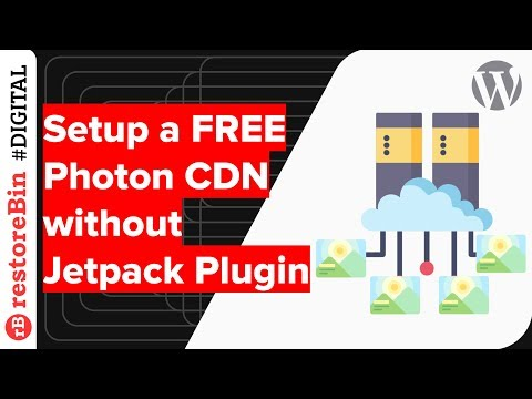 Free Photon Image CDN without installing Jetpack Plugin in WordPress