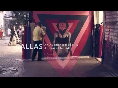 Pallas Augmented Reality Animated Mural