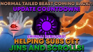 Download 🔴(EVENT COUNTDOWN!) HELPING SUBS GET JINS AND SCROLLS!   SHINDO LIFE LIVE STREAM!   RellGames!🔴