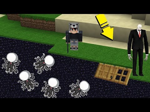 NOOB'lar VS SLENDERMAN EV'i - Minecraft