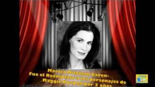 Las Voces de Los Simpson - Marcia Mitzman Gaven, Reemplazo de Maggie Roswell por 3 años