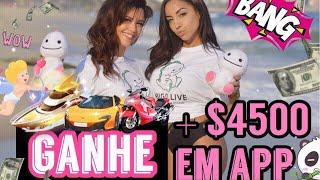 COMO GANHAR DINHEIRO EM APLICATIVO BIGO LIVE + $ 4500 NA SUA RENDA | HANNA RIBEIRO