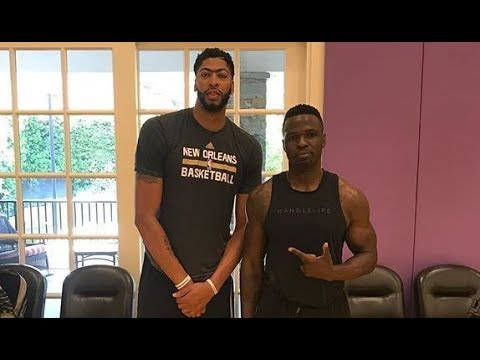 Exclusive Anthony Davis, Summer 2017, Working on Moves and Handles
