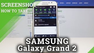 How to Take Screenshot in SAMSUNG Galaxy Grand 2 - Capture Screen