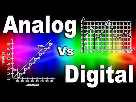 Analog Vs Digital Audio Video Signal Explained