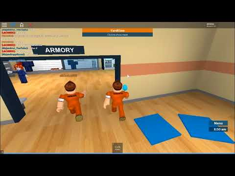 frist time learning how to play roblox prison life v2.0