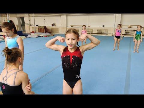 ОФП заруба гимнасток: самые сильные девочки