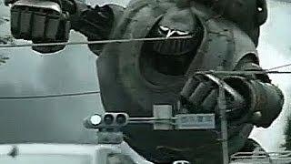 ドコモ データ通信 L-05A 2009年 「登場」篇 15秒+30秒 「鉄人vs.ブラッ...