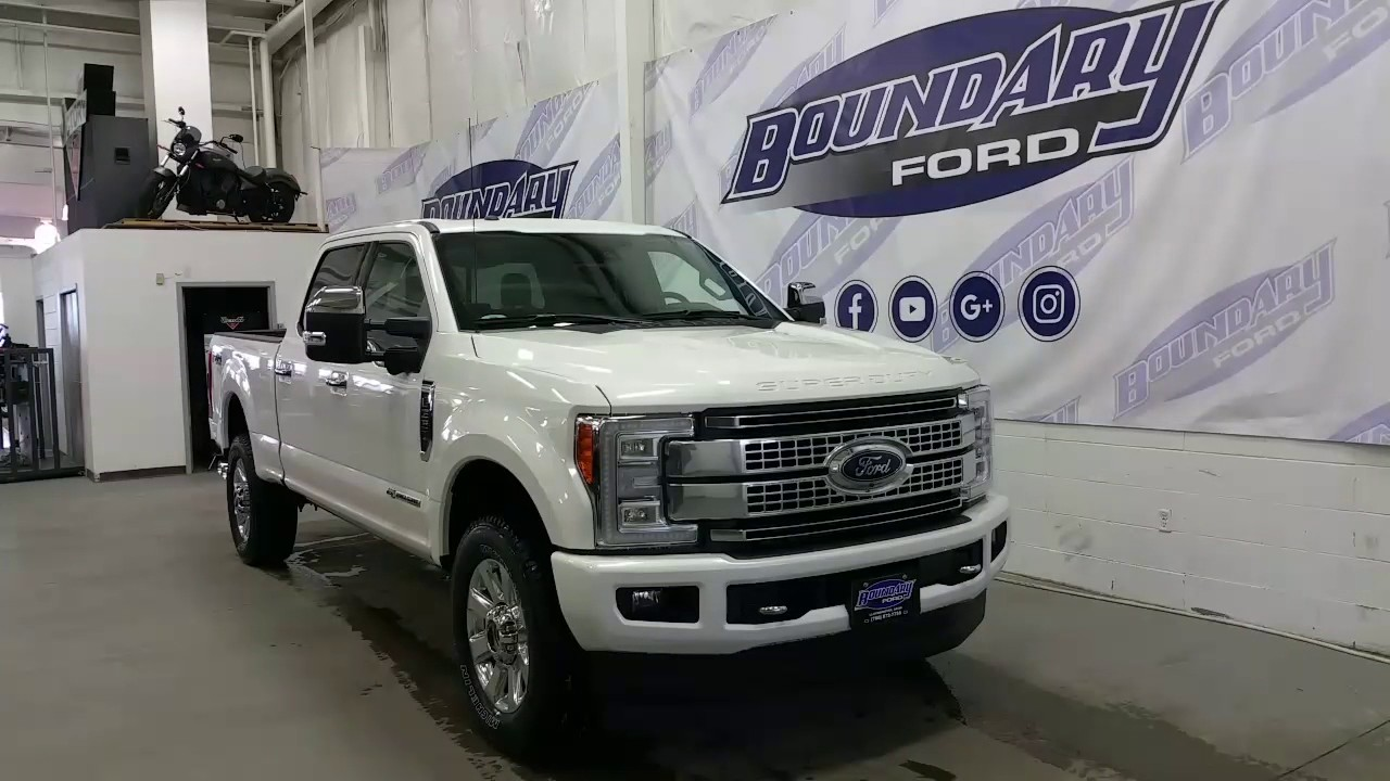 2017 ford f 350 platinum w leather sunroof led lighting review boundary ford [ 1280 x 720 Pixel ]