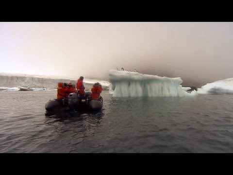 Scientists document glaciers melting in Antarctica