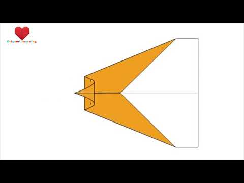 How to Fold an Origami Paper Plane 5