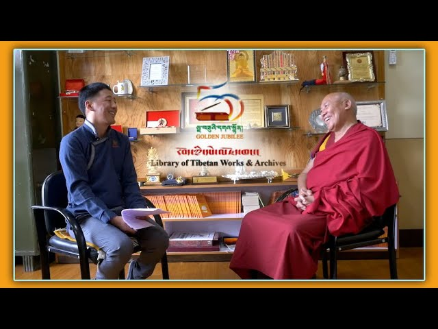 LTWA marks 50th founding anniversary: Interview with Geshe Lhakdor la