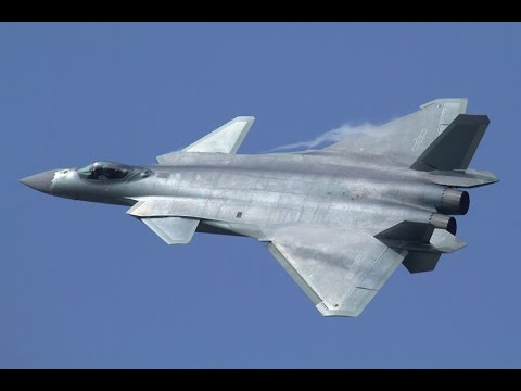 China Stealth Fighter J-20 Chengdu In Action - Full HD Video