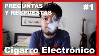 Preguntas sobre el cigarro electrónico (Parte 1)