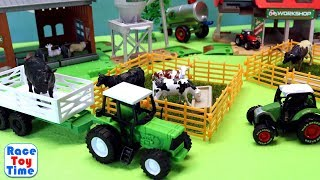 Farm Tractor Toys and Fun Animals Toys For Kids