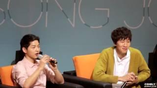 160417 송중기 5TH 팬미팅 [우리 '다시' 만난 날 ] - 광수토크