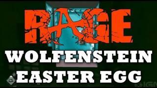 Rage: Wolfenstein 3D Easter Egg