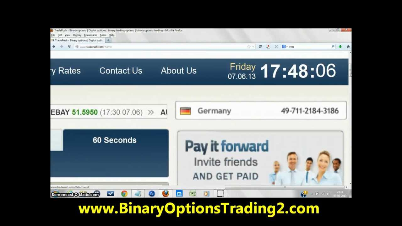 Traderush binary options strategy betting pre flop strategy