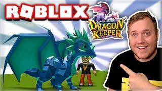 HOW TO TRAIN A DRAGON?! -Dragon Keeper Roblox