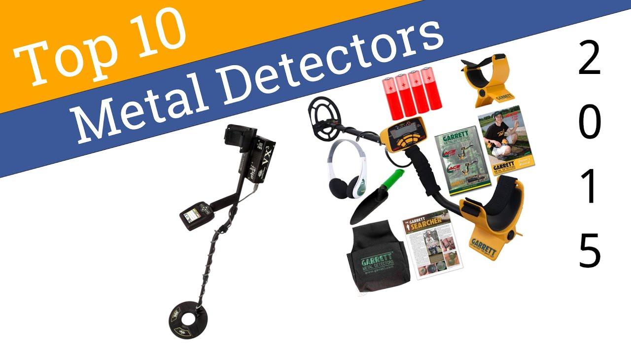 10 Best Metal Detectors 2015 - YouTube