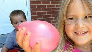 Indestructible Water Balloon Fight!
