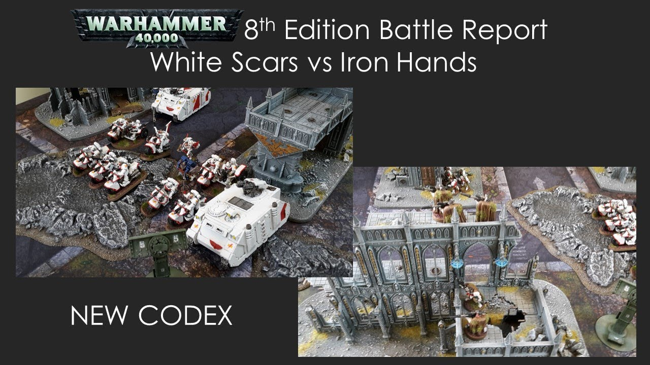 Battle Report- White Scars vs Iron Hands   Frontline Gaming