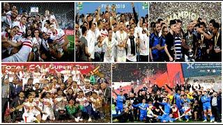 الزمالك بطلا لخمس بطولات في موسم واحد