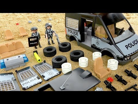 Assembling Police Car for Kids | Street Vehicles Toys for Children