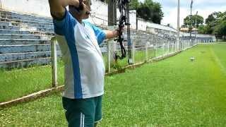 Tiros a 30 mts com Hoyt Charger 2014
