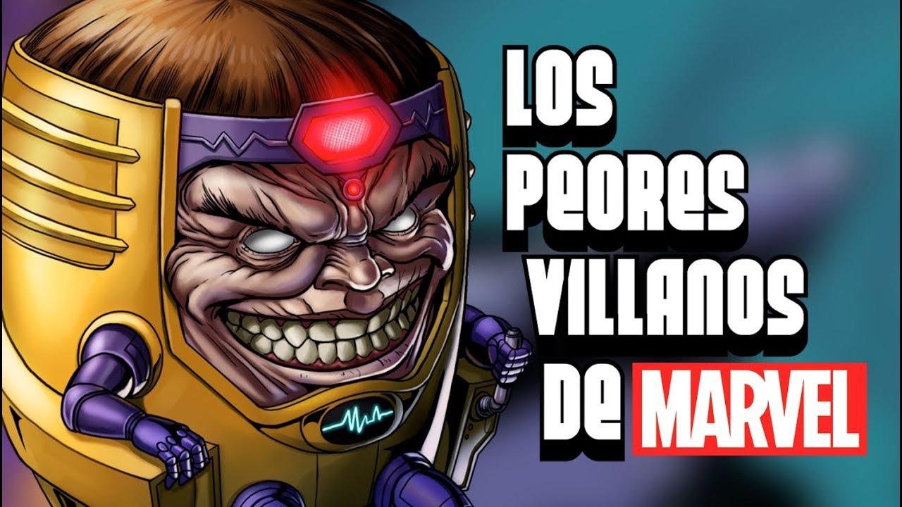 Los Peores Villanos De Marvel Youtube