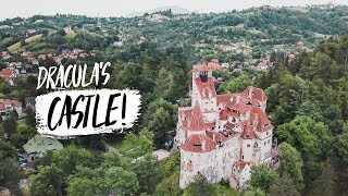 Exploring DRACULA'S CASTLE! + INCREDIBLE Hilltop Fortress (Brasov, Romania)