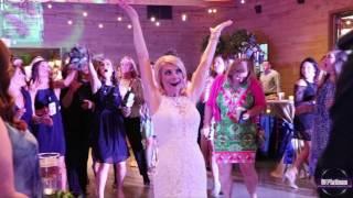 Platinum ENT DJ & Lighting Services: Barn at Shady Lane Wedding
