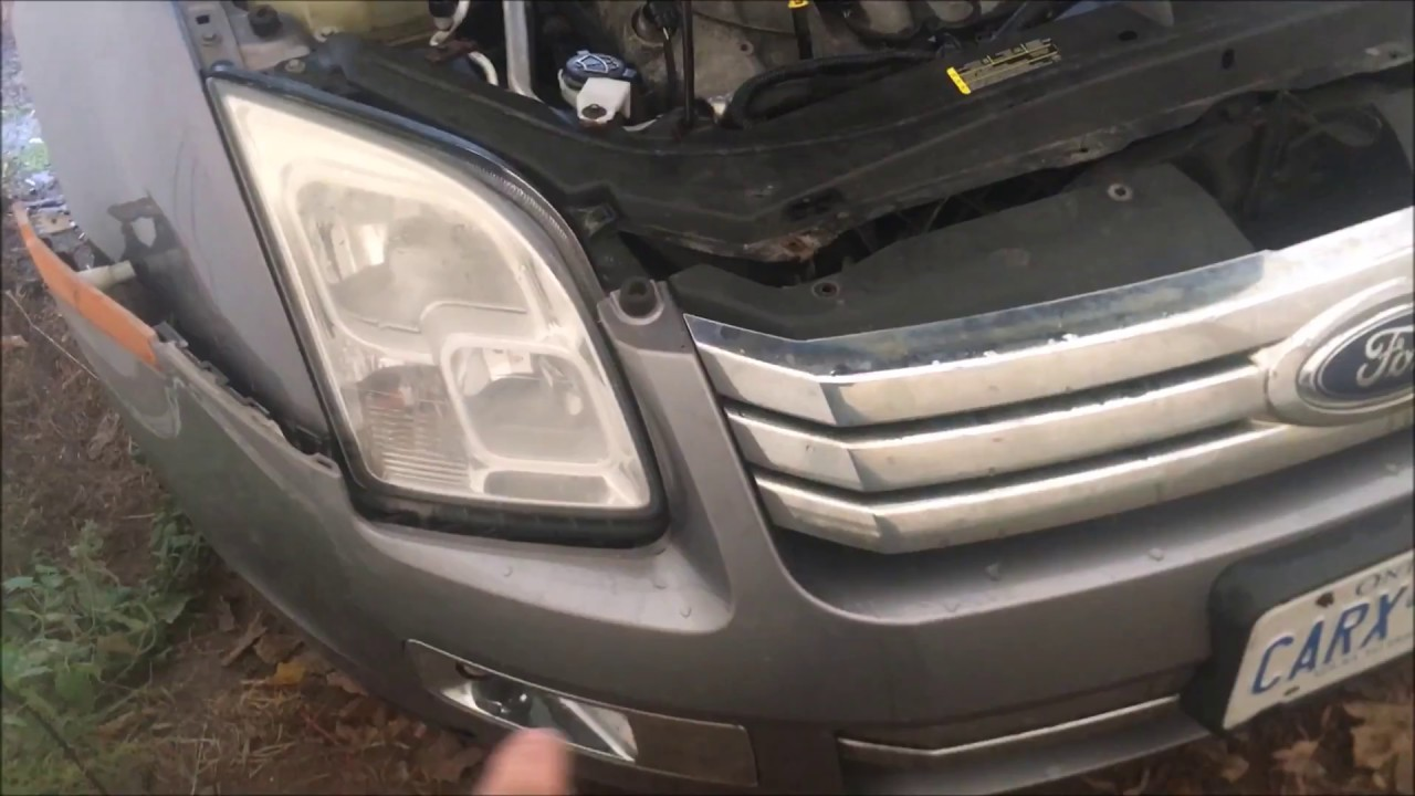 hight resolution of 2006 2009 ford fusion how to replace headlight assembly