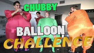 CHUBBY BALLOON CHALLENGE! ft. Logan Paul