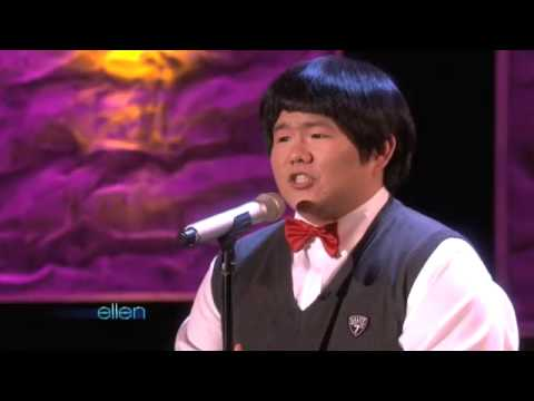 [The Ellen Degeneres Show] Taiwanese Lin Yu Chun performs Whitney Houston's I Will Always Love You