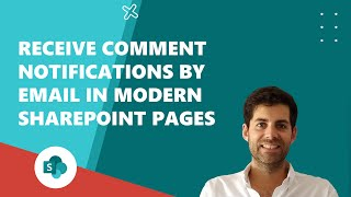 Receive comment notifications by email in Modern SharePoint Pages