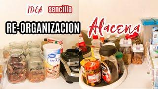 REOrganizacion de mi ALACENA Ideas para organizar tu cocina sin gastar mucho dinero.
