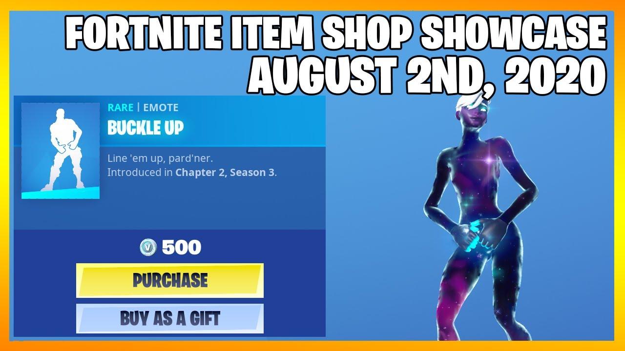 Fortnite Item Shop *NEW* BUCKLE UP EMOTE! [August 2nd, 2020] (Fortnite Battle Royale)
