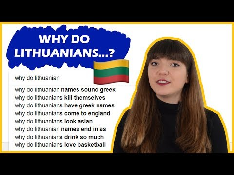 WHY DO LITHUANIANS...??? 🇱🇹🤔