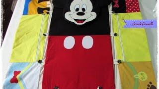 Aula 1 bolsa trocador Mickey