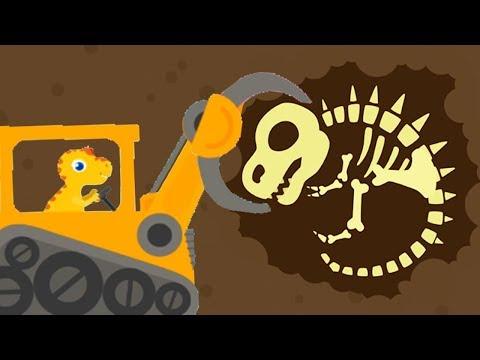 Dinosaur Digger 3 - The Truck Kids Game - Play Fun Dinosaur Digger Game For Kids By Yateland