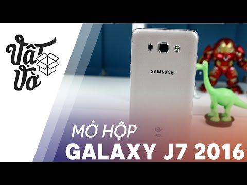 Vật Vờ| Mở hộp Samsung Galaxy J7 2016 xách tay Ram 3GB, giá rẻ