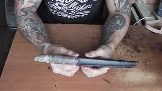закалка филейного ножа из х12мф
