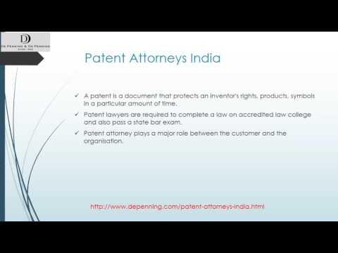 Depenning patent attorneys India