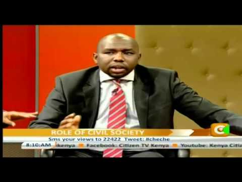 Cheche Corruption And The  Civil Society Part 1