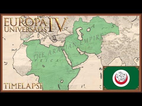 Europa Universalis 4 - Jihad - Timelapse (Cradle of Civilization) |