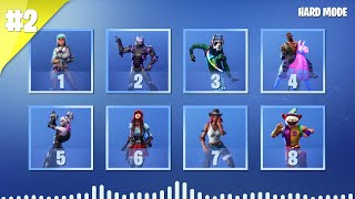GUESS THE FORTNITE DANCE BY ITS MUSIC - PART 2 - HARD MODE | tusadivi