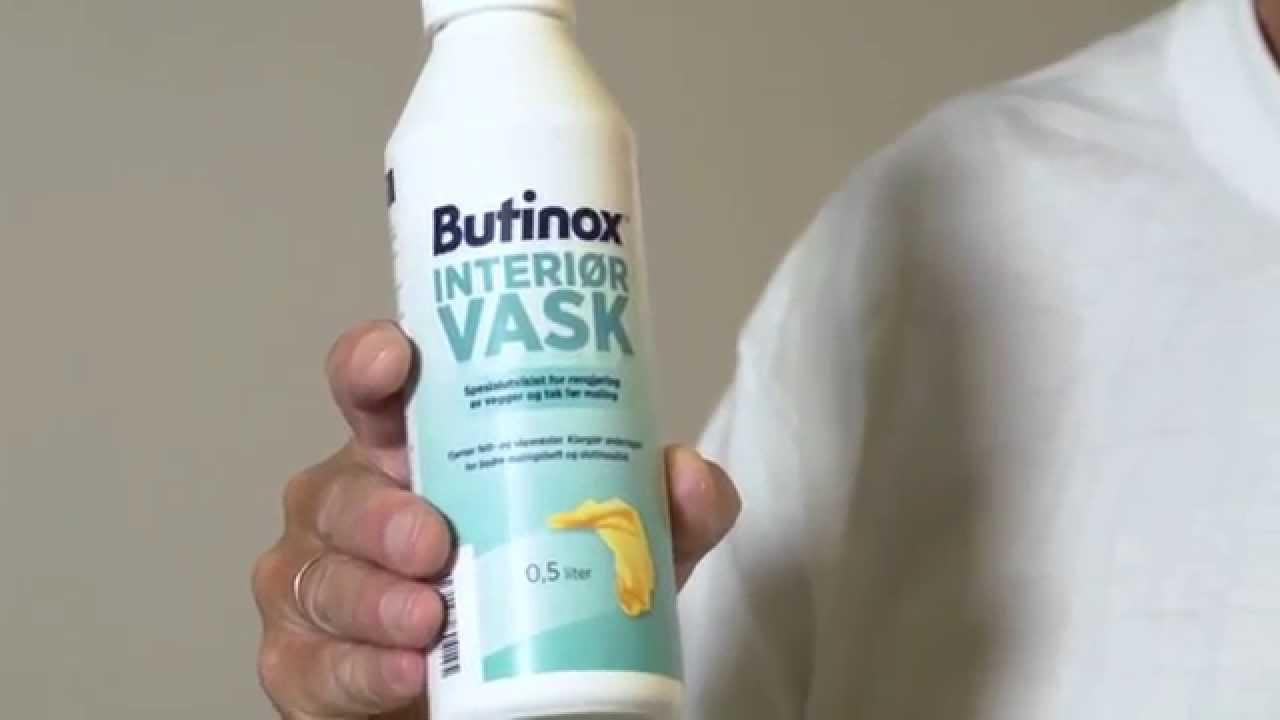 Vask før du maler - Butinox Interiør