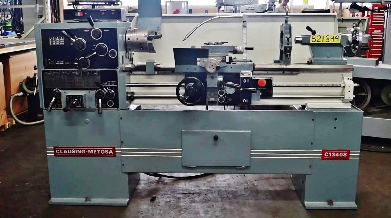 Clausing Lathe Bench Diagram Worksheet And Wiring Engine Nomenclature 13 X 40 Metosa C1340s Youtube Rh Com New Colchester