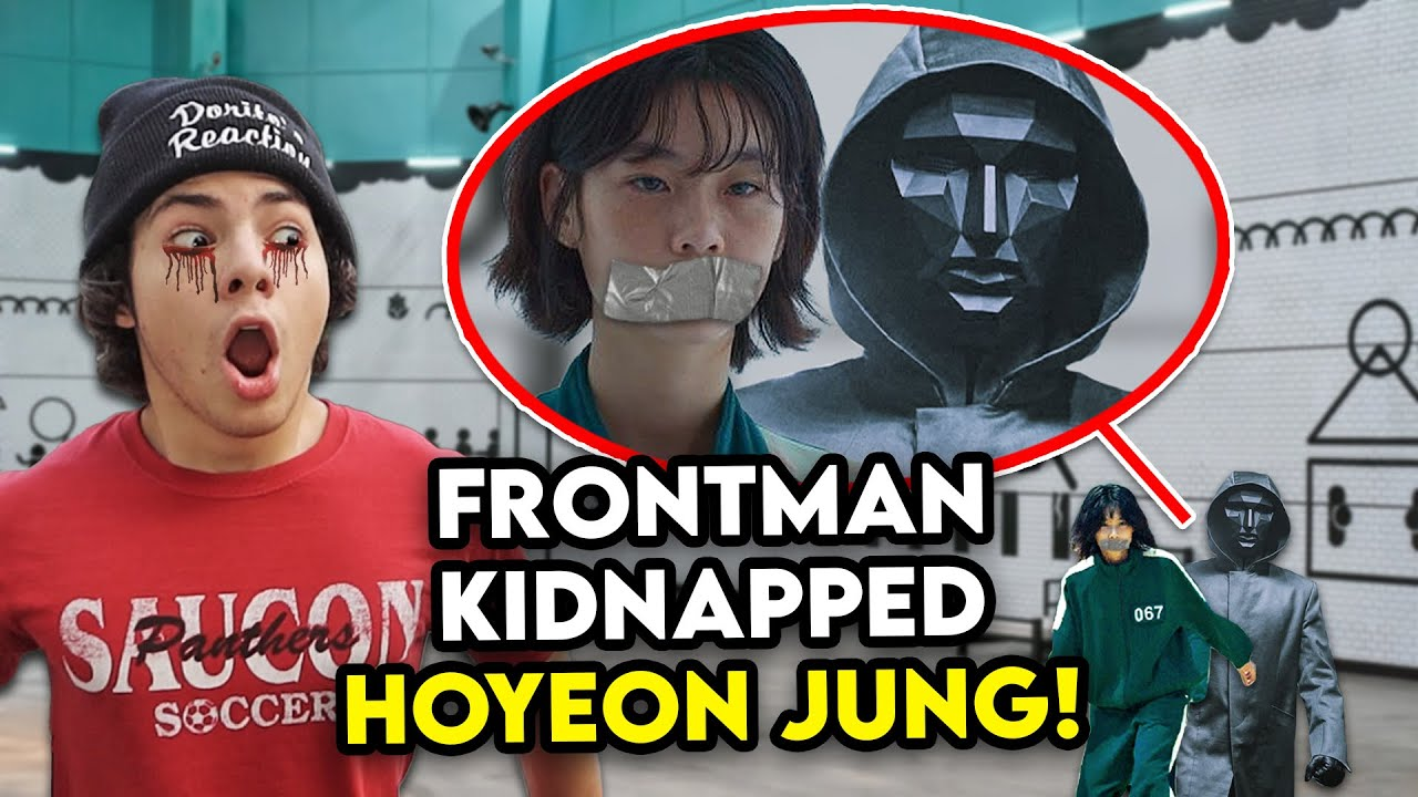 HOYEON JUNG GOT KIDNAPPED BY SQUID GAME FRONTMAN IN REAL LIFE!! (HELP HER)